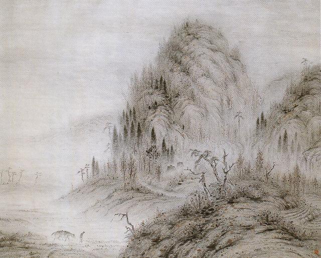 石原紫雲「煙靄」