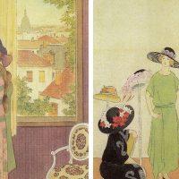 初期文展で活躍し挿絵や口絵も多く手がけた橋本邦助