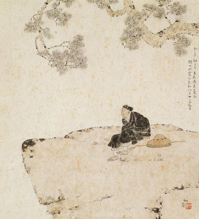小杉放菴「立石寺」栃木県立美術館蔵