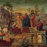 イコンと仏画を融合した独自の宗教画を確立した牧島如鳩