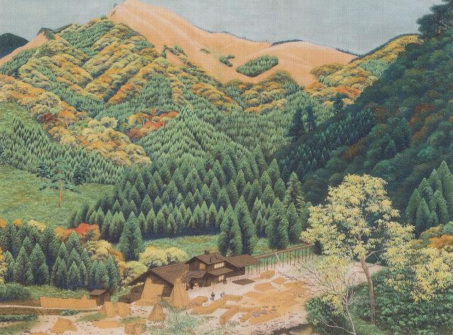 穴山勝堂「秋の訪れ」