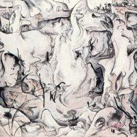 抽象表現に南画の新しい境地を拓いた大山魯牛