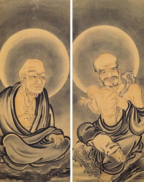 三谷等悦「十六羅漢図」