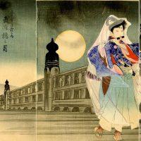 山梨県内に多くの肉筆画を残した浮世絵師・中澤年章