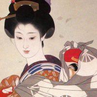 岩田専太郎と挿絵画家の双璧と謳われた志村立美