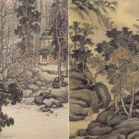 日本南画院創立に加わるなど南画復興に尽力した小室翠雲