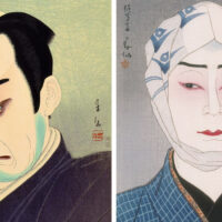 昭和の役者絵に新時代を築いた名取春仙