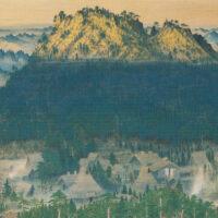 山梨の近代日本画の草分けのひとり・古屋正寿