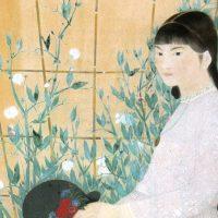 モダンな感覚で新しい日本画を模索した田中青坪