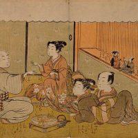 土浦藩士から浮世絵師に転身した磯田湖龍斎