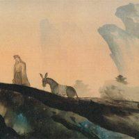 横山大観、菱田春草らを率いて新日本画の創造運動を推進した岡倉天心