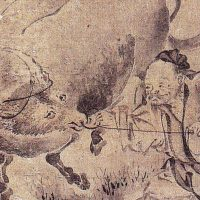 建長寺の僧となりのちに常州水戸に住んだ長柳斎(可卜)
